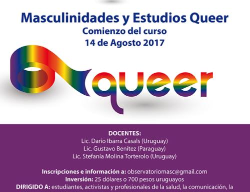 Curso Masculinidades y Estudios Queer